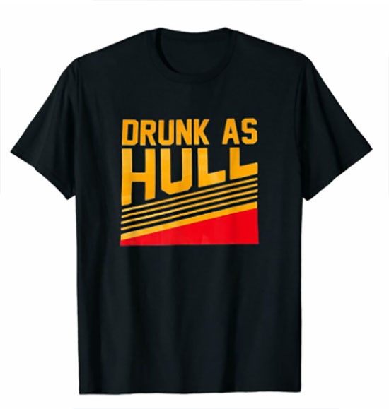 Brett Hull Drunk shirt